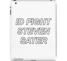 ID FIGHT STEVEN SATER iPad Case/Skin