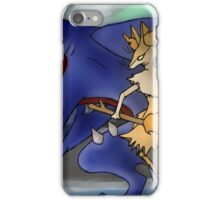 Pokemon Garchomp and Braixen iPhone Case/Skin