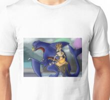 Pokemon Garchomp and Braixen Unisex T-Shirt