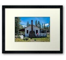 Butte Creek VI Framed Print