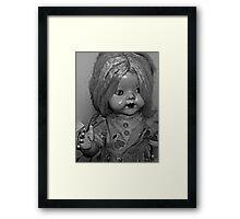 baby Jane doll Framed Print