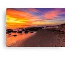 Sunset at Casperson Beach Canvas Print
