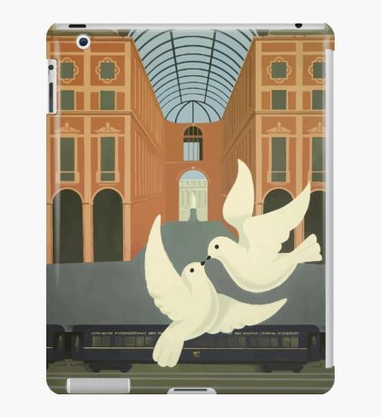Venice Simplon Orient-Express Milano Vintage Travel Poster iPad Case/Skin