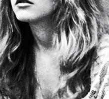 Stevie Nicks Classic White Witch Portrait Sticker