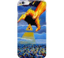 if thine eye offend thee... iPhone Case/Skin