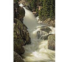 Alberta Falls RMNP Photographic Print