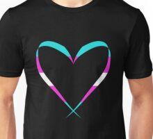 Trans Heart Unisex T-Shirt