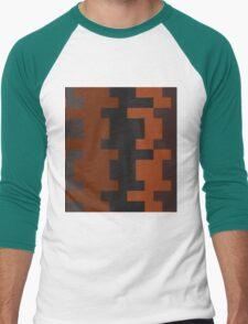 Burnt Men's Baseball ¾ T-Shirt