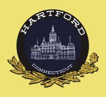 Hartford, Connecticut Baby Tee