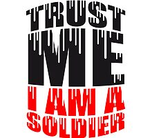 Trust Me Soldier Graffiti Logo by Style-O-Mat