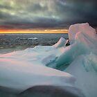 The Break of Day, Lake Superior by Michael Treloar
