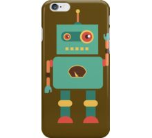 Fun Retro Robot Art iPhone Case/Skin