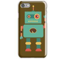 Fun Retro Robot Art iPhone Case/Skin
