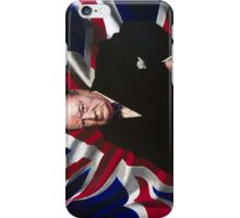 Sir Winston Churchill iPhone Case/Skin