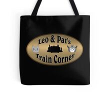 Leo & Pat's Train Corner Logo Tote Bag