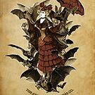 Flossie Leather Feathers and her Bat Cabaret by Bethalynne Bajema