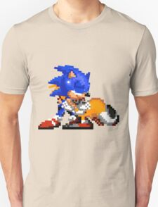 Sonic and Tails - Hugs Unisex T-Shirt