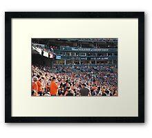 Oriole Park Framed Print