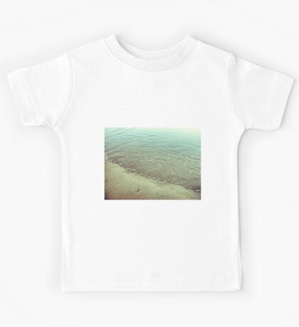 Abstract rippled water Kids Tee