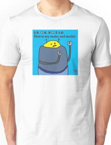 """Fat Robot Ponders Identity"" by Richard F. Yates Unisex T-Shirt"