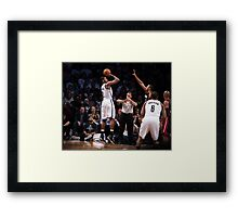 Joe Johnson Framed Print