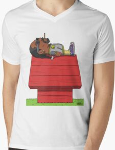 Snoop Mens V-Neck T-Shirt