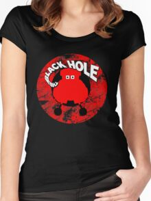 The Black Hole VINCENT Women's Fitted Scoop T-Shirt