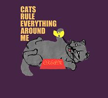 Cats Rule Everything Around Me - CREAM Unisex T-Shirt
