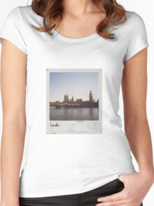 Polaroid - London Women's Fitted Scoop T-Shirt