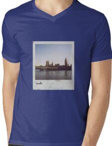 Polaroid - London Mens V-Neck T-Shirt