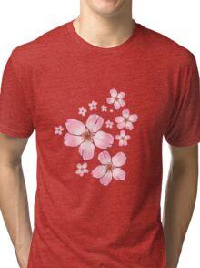 Sakura Blossoms  Tri-blend T-Shirt