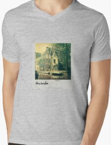 Polaroid - Amsterdam Mens V-Neck T-Shirt
