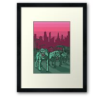 Radioactive Wolves of Chernobyl Framed Print