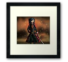 Bravely Second Janne Balestra Framed Print