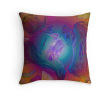 Zircon Secrets Throw Pillow Throw Pillow