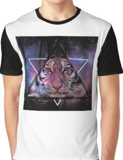 Wood Tiger Graphic T-Shirt