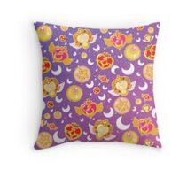 Sailor Moon Locket Pattern! Throw Pillow