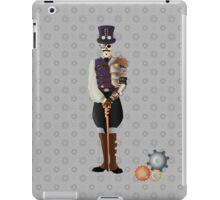 Steampunk Skeleton iPad Case/Skin
