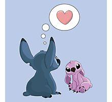Stitch Inspired Friendship. Photographic Print