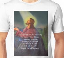 The Serenity Prayer Unisex T-Shirt