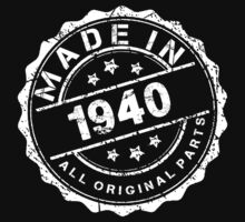MADE IN 1940 ALL ORIGINAL PARTS by smrdesign