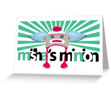 Misha's minion; Gishwhes - 01 Greeting Card
