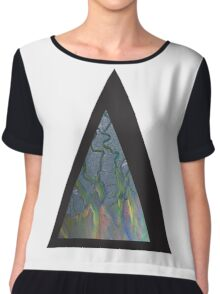 Alt-j An Awesome Wave Triangle Chiffon Top
