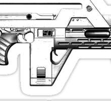 USCM - Peace through superior firepower Sticker