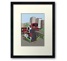 Runaway Train Framed Print