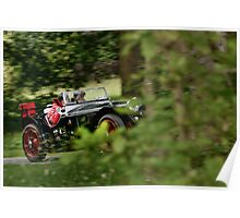 The Three Castles Welsh Trial 2014 - Riley MPH -ERA Poster