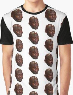 High Quality Crying Jordan Graphic T-Shirt