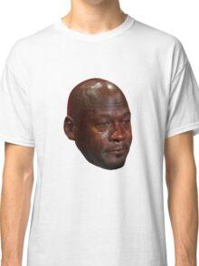 High Quality Crying Jordan Classic T-Shirt