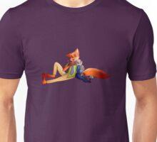 Fox and the rabbit Unisex T-Shirt