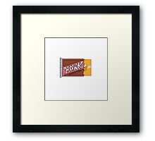 The Golden Diskette Framed Print
